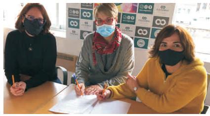 Oohx!gen i El Nou de l'Empordà signenun conveni de col·laboració per al 2021