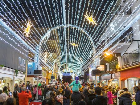 Encesa De Llums De Nadal Dissabte 30 De Novembre Amb La Segona Edició Del Túnel De Llum De 60 Metres