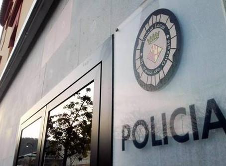 La Policia Local de Sant Feliu de Guíxols ajuda a donar llum a un nadó