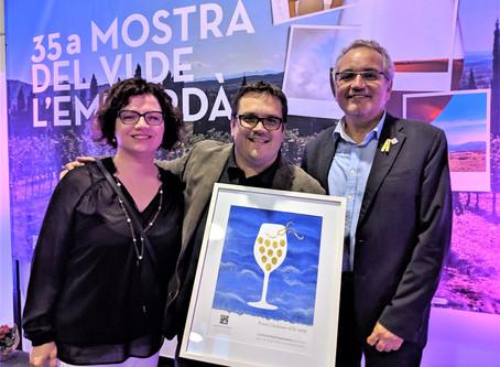 Lledoner d'Or 2019 a Es Portal Hotel Gastronòmic pel suport al vi de la DO Empordà
