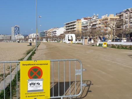 Aquesta setmana es realitzaran les feines de manteniment i millora de l'aparcament de la platja Gran