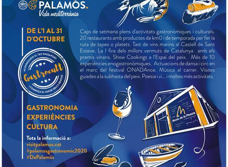 Palamós gastronòmic, el mes de la gastronomia i la cultura