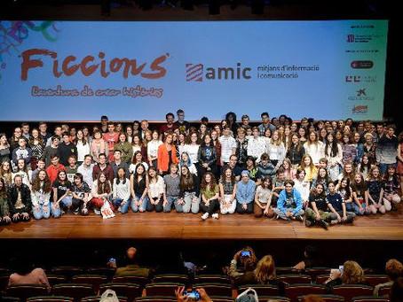 """28 ALUMNES DE GIRONA ARRIBEN A LA FINAL DELCONCURS LITERARI """"AMIC-FICCIONS"""""""