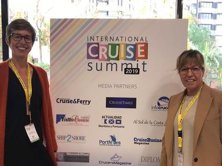 Palamós ha estat present al fòrum International Cruise Summit que aquesta setmana s'ha celebrat