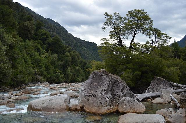 cochamo, valle cochamo, rio cochamo, patagonia, chile