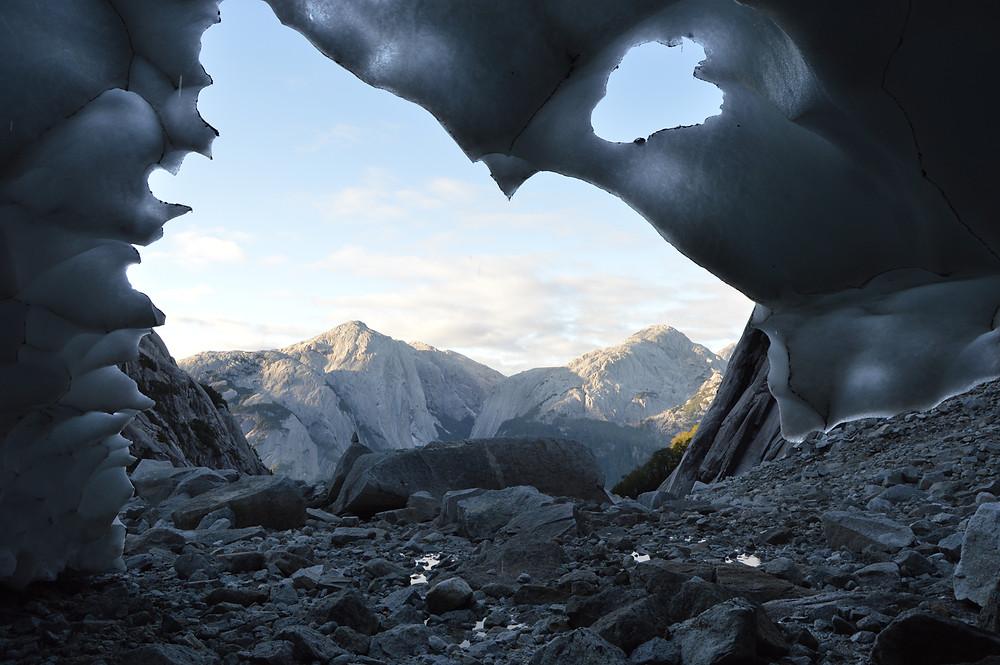 cochamo, la junta, glaciar, la paloma, trekking, hiking