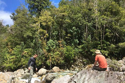 Río Piedra valle de cochamó