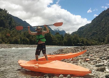 kayak Cochamó, estuario de reloncaví