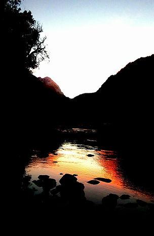 Amanecer en La Frontera Valle de Cochamo