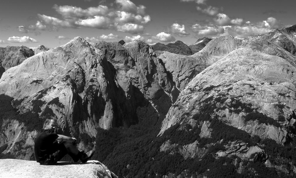 cochamo, trekking, arcoiris, cerro, la junta