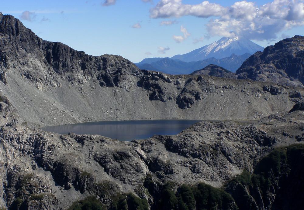 Cerro arcoiris, cochamo, la junta, trekking