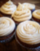 Gingerbread Cupcakes with biscoff butter