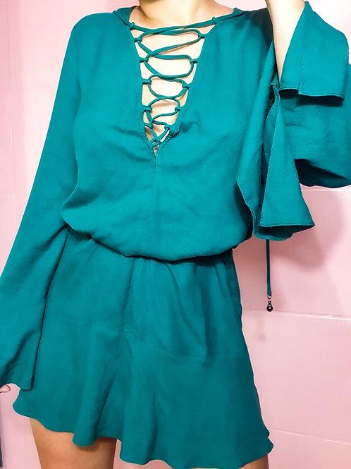 Vestido Verde Sereia