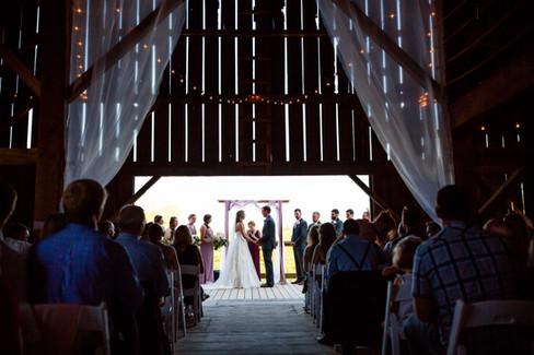 Ceremony on deck