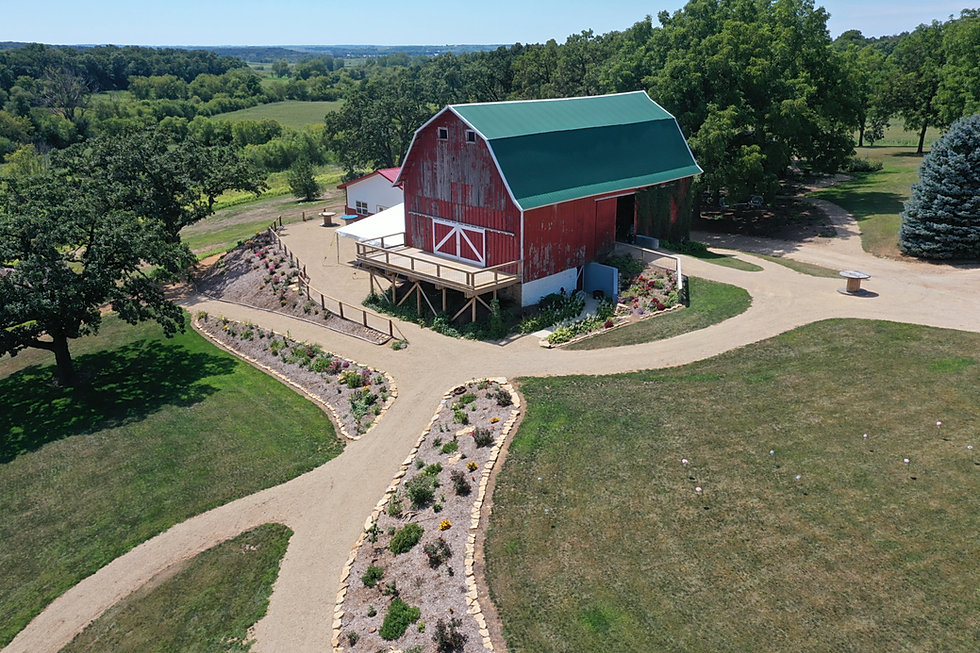 Wedding barn and outdoor event venue
