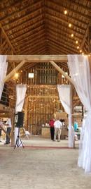 Inside of Barn