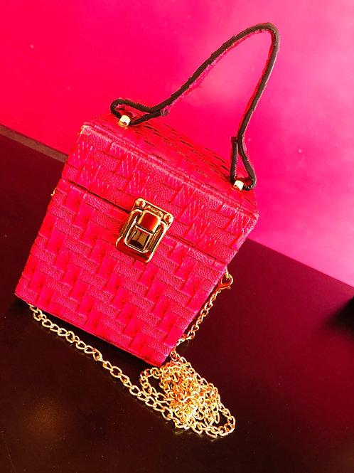 Pink Box Purse
