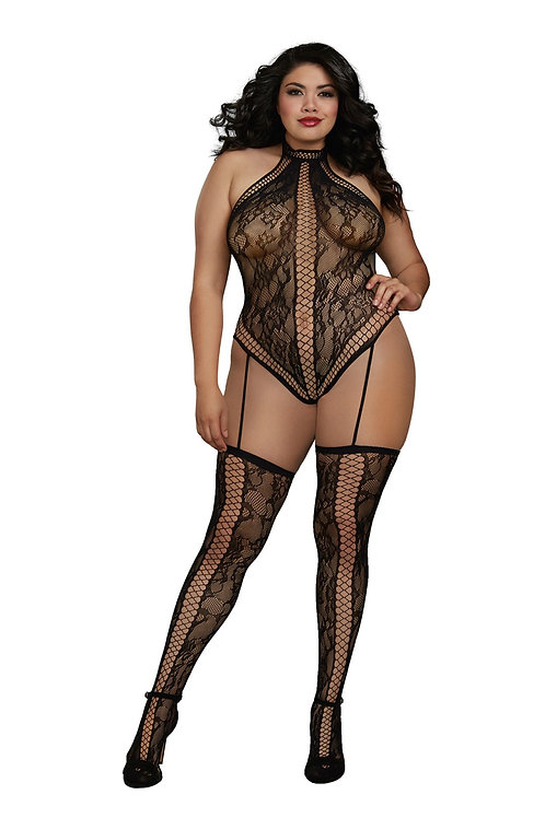 Her Way Body Stocking
