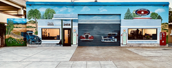 auto repair downtown livermore mural
