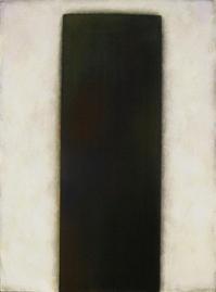 Bild - Stele Schwarz auf Weiß