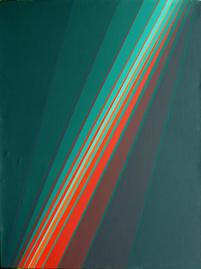 Bild - Fächer Grün Rot