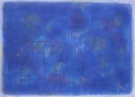 Bild -  Dripping Blau Blau