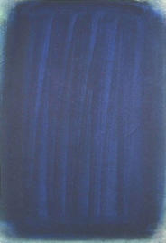 Gouache - Gestiche Blaue