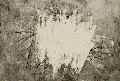 Gouache - Radierung/Bütten