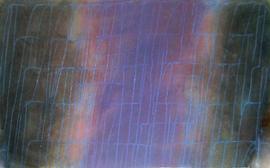 Gouache - Dripping Blau
