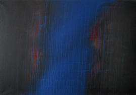 Bild - Dripping Blau II