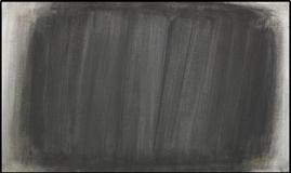 Schleierbild schwarz auf grau