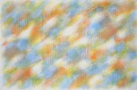 Netzbild - Weiß über Blau Gelb