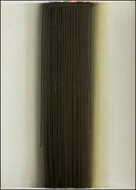 Bild - Running schwarz auf farbigem weiss