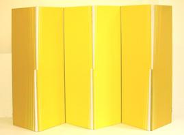 Faltbild Gelb