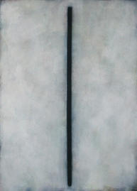 Bild - Vertikal Schwarz auf Grau