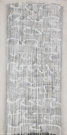 Bild - Collage Dripping Weiß