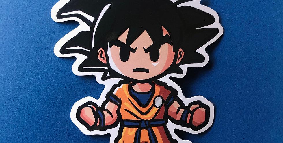 Balls Orange Sticker
