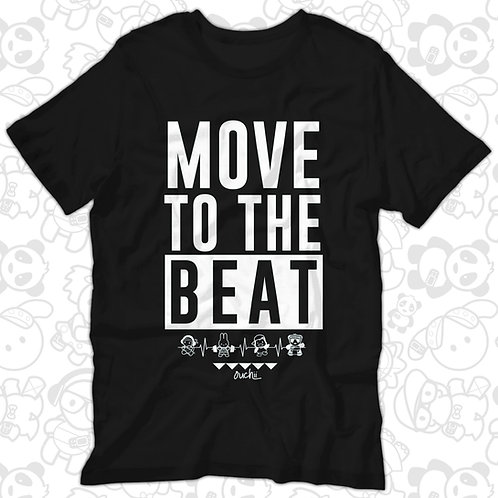 Move to the Beat Tee (Black)