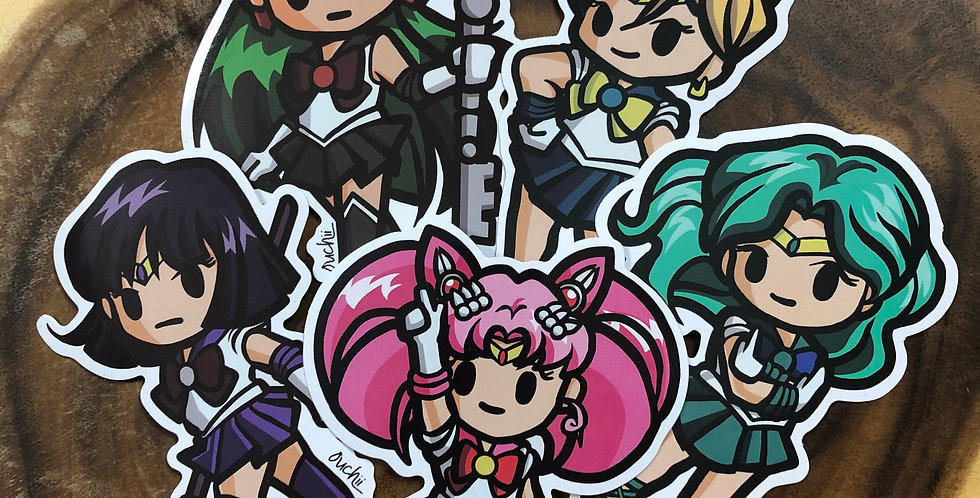 Moonie Outer Sticker Pack
