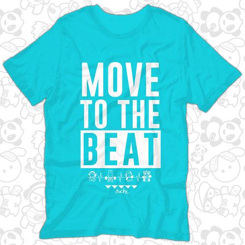 Move to the Beat Tee (Teal/Tahiti)