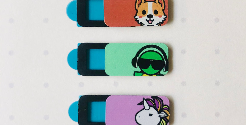 Ouchii Webcam Cover Pack