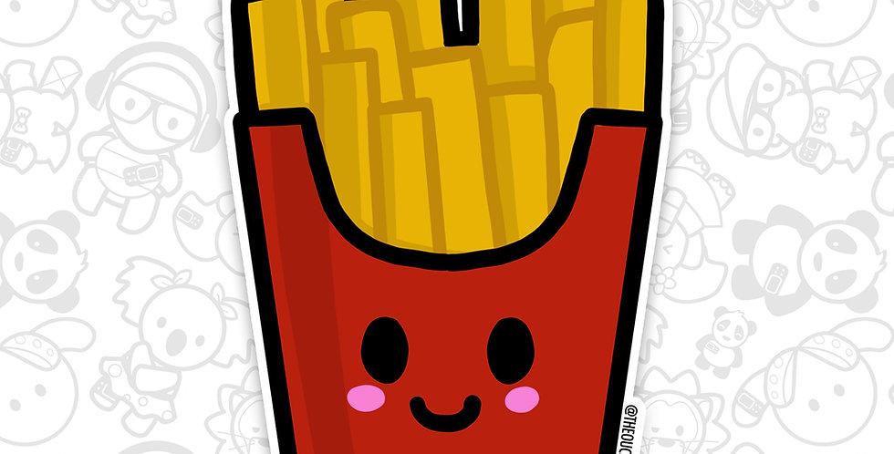 Happy Fries Sticker