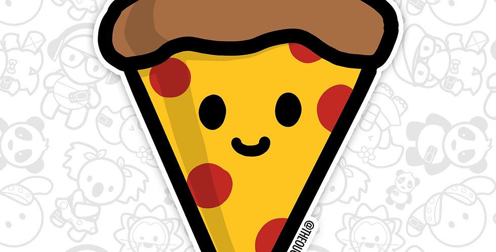 Happy Pizza Sticker