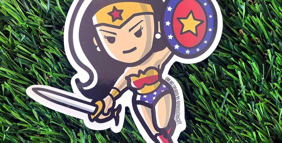 Girl Wonder Sticker