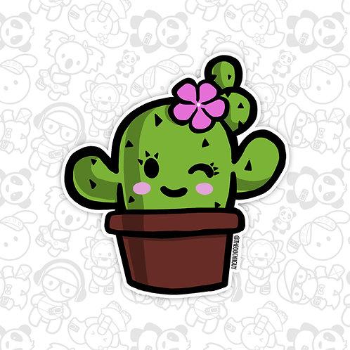 Chiyoko Cactus Sticker