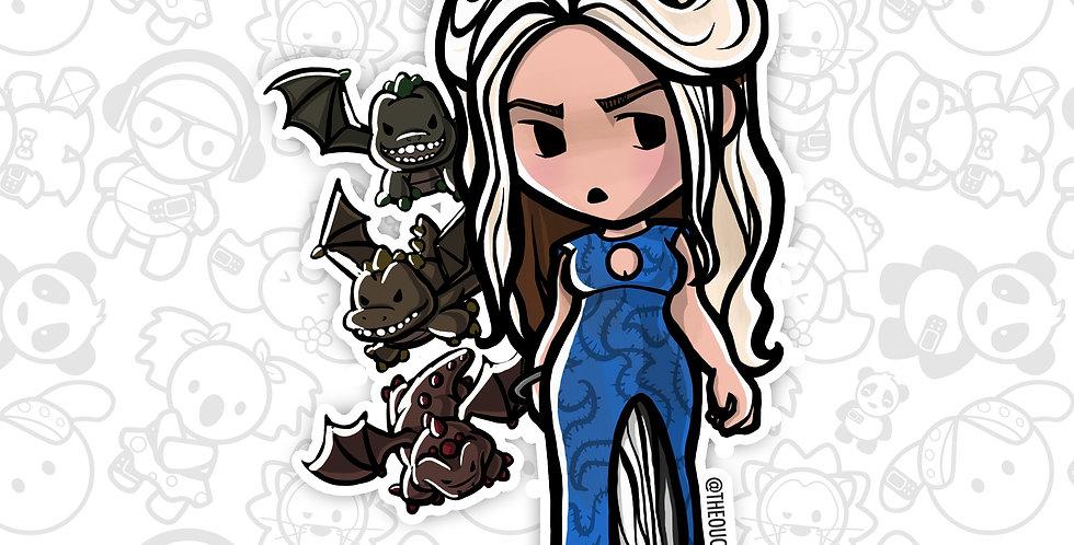 Dragon Queen Sticker