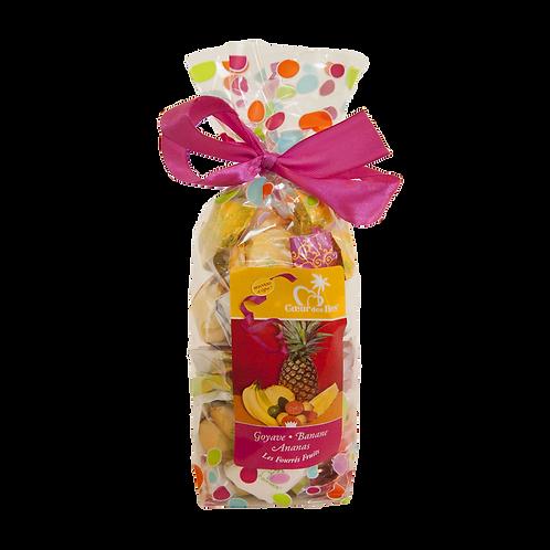 Sachets de Bonbons Fourrés aux Saveurs Locales 140gr