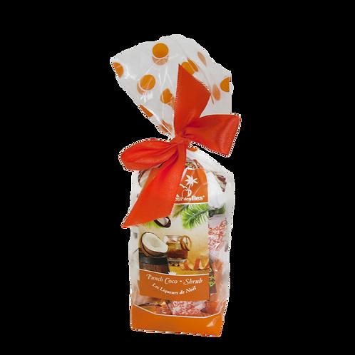Sachets de Bonbons Fourrés Liqueurs de Noël 140 gr
