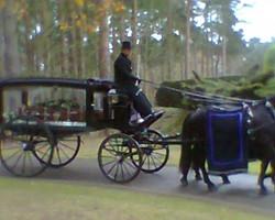 At Mintlyn Crematorium