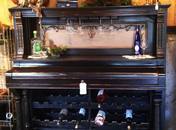 Piano Wine Cabinet
